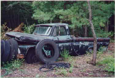 Sonny Allan had a junkyard on Granite Street in Medfield